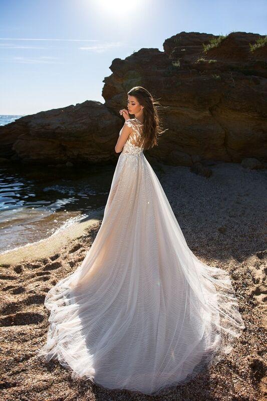 Свадебное платье напрокат Ida Torez Murex Pecten - фото 4