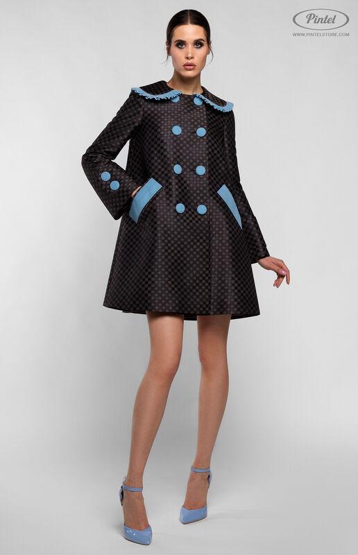 Верхняя одежда женская Pintel™ Комплект из пальто и комбинезона с укороченными шортами Parsis - фото 1