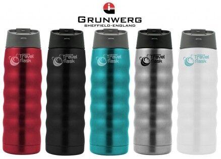 Подарок Grunwerg Термокружка «Travel flask» 480 мл. разноцветная, SVX350 - фото 1
