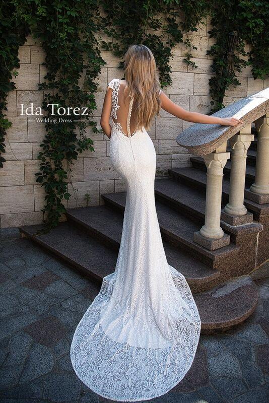 Свадебное платье напрокат Ida Torez Свадебное платье Jose - фото 3