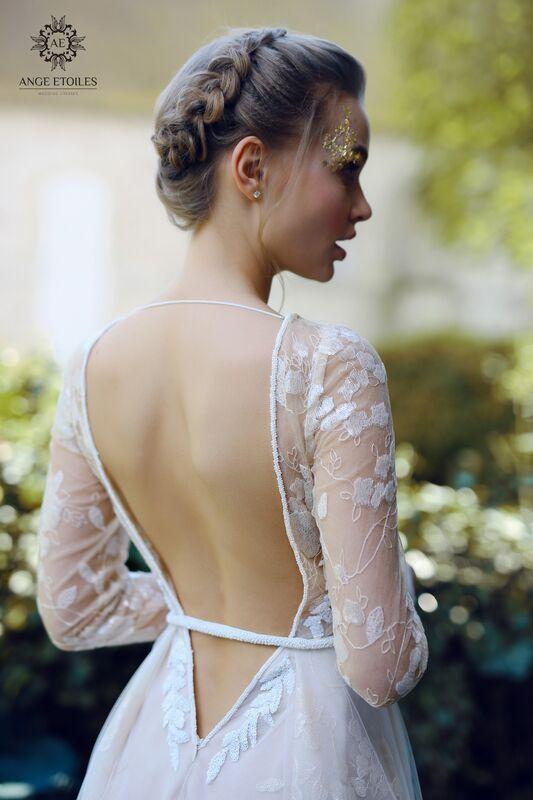Свадебное платье напрокат Ange Etoiles Платье свадебное AEriality Collection Ilyin - фото 3