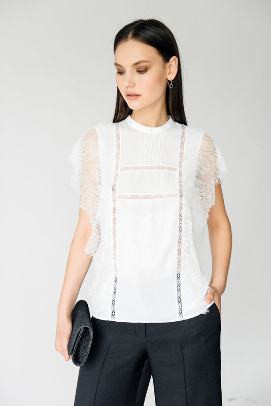 Кофта, блузка, футболка женская Burvin Блузка женская 6063 - фото 1