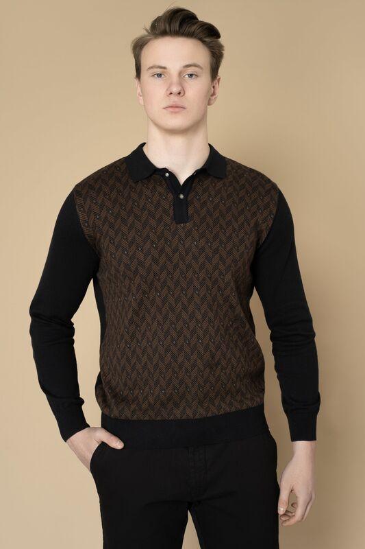 Кофта, рубашка, футболка мужская Etelier Джемпер мужской  tony montana 211391 - фото 1