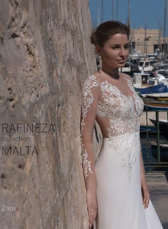 Свадебное платье напрокат Rafineza Платье свадебное Zara напрокат - фото 3