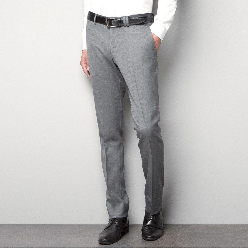 Брюки мужские Fabio Cassel Мужские брюки, цвет: светло-серый - фото 1