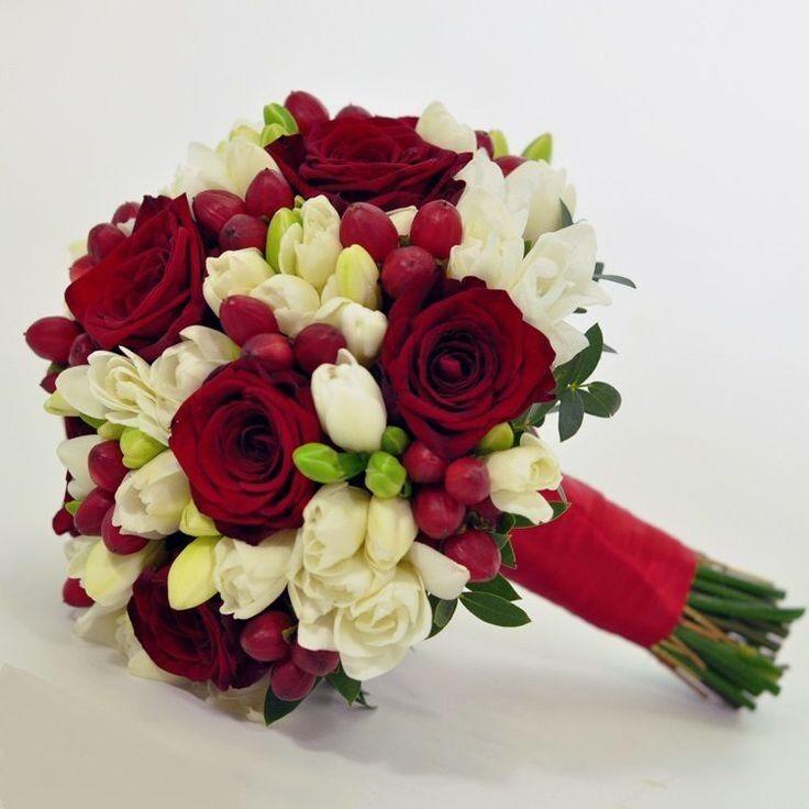 Магазин цветов Кошык кветак Букет свадебный №4 - фото 1