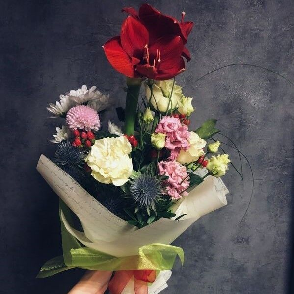Магазин цветов Кошык кветак Букет экзотический №4 - фото 1