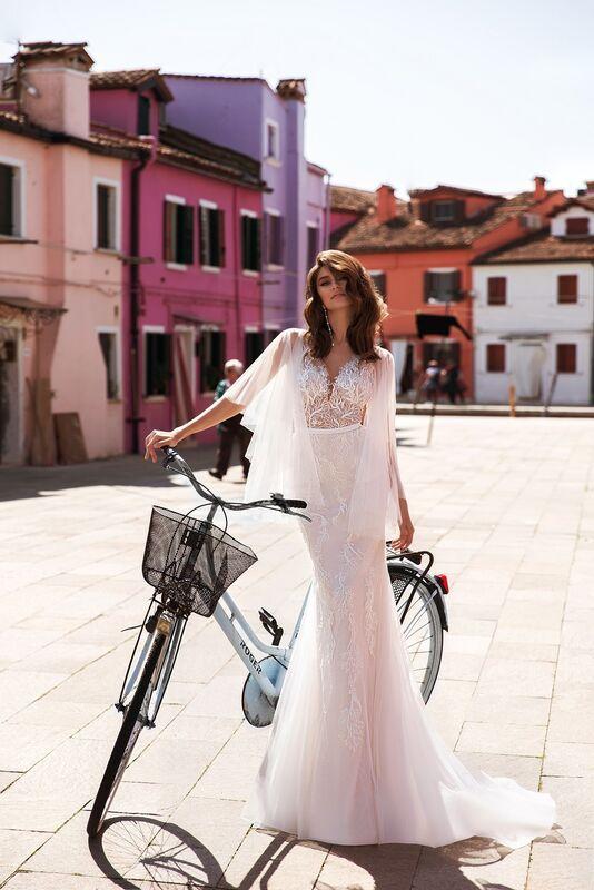 """Свадебный салон ALIZA свадебное платье """"Delfinye"""" - фото 2"""