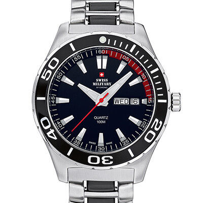 Часы Swiss Military by Chrono Наручные часы SM34017.01 - фото 1