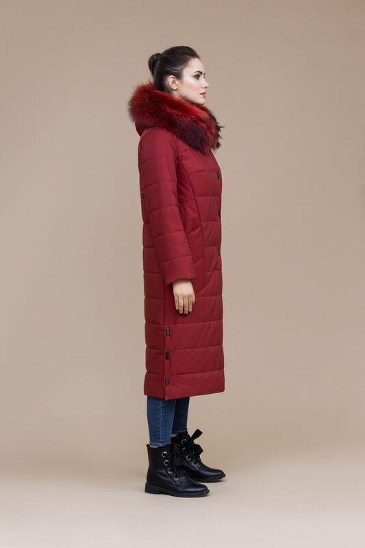 Верхняя одежда женская Elema Пальто женское утепленное плащевое  5-8083-1 - фото 2