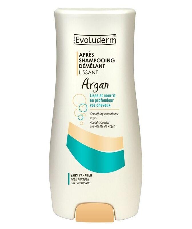 Уход за волосами Evoluderm Кондиционер разглаживающий для непослушных волос с маслом Арганы Hair Care Argan Conditionner - фото 1