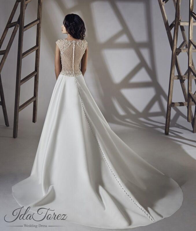 Свадебное платье напрокат Ida Torez Свадебное платье Torsa - фото 2