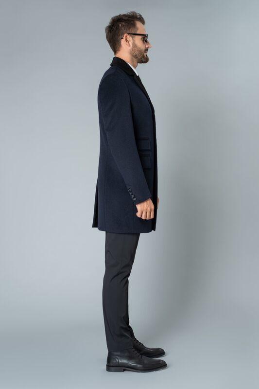 Верхняя одежда мужская Etelier Пальто мужское демисезонное 1М-9126-1 - фото 3