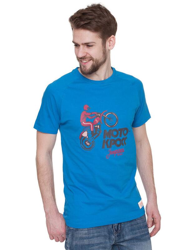 Кофта, рубашка, футболка мужская Запорожец Футболка «Motokross» SKU0111000 - фото 3