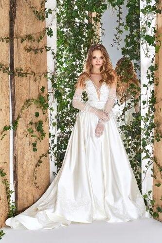 Свадебный салон Papilio Свадебное платье «Wonderland» #1800-L Роза - фото 1