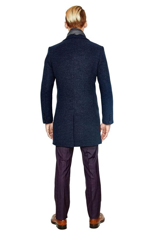Верхняя одежда мужская HISTORIA Пальто мужское синее H01 - фото 2