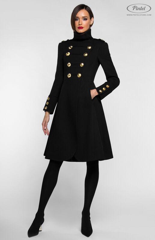 Верхняя одежда женская Pintel™ Двубортное приталенное пальто SHANICE - фото 3