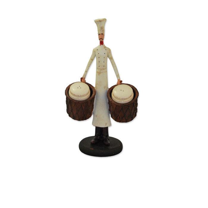 Подарок Дом Декор Статуэтка «Повар» для соли и перца  21054880 - фото 1