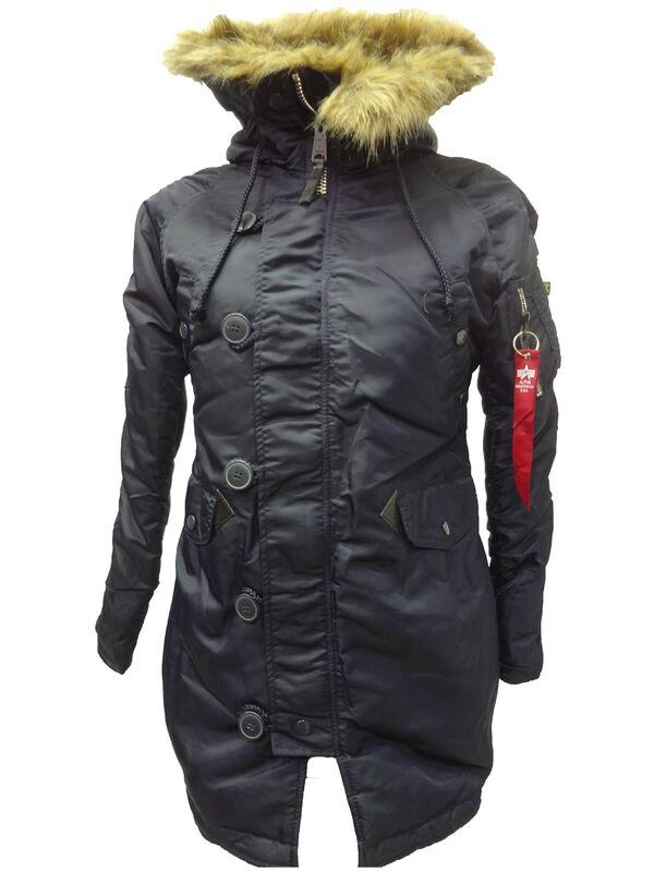 Спортивная одежда Alpha Industries Женская куртка-аляска N-3B - фото 3