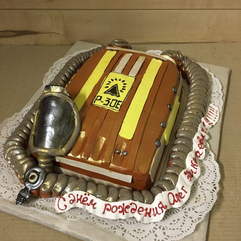 Торт МЕГАТОРТ Торт «Кусто бы заценил» - фото 1