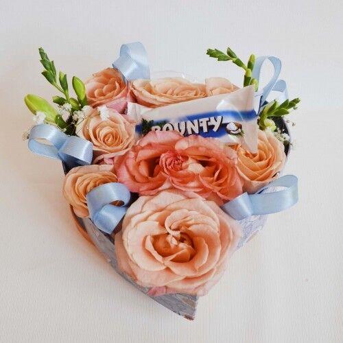 Магазин цветов Планета цветов Цветочная композиция №1 - фото 1