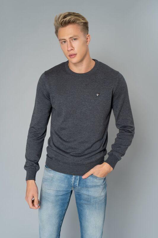 Кофта, рубашка, футболка мужская Etelier Джемпер мужской tony montana T1001 - фото 1