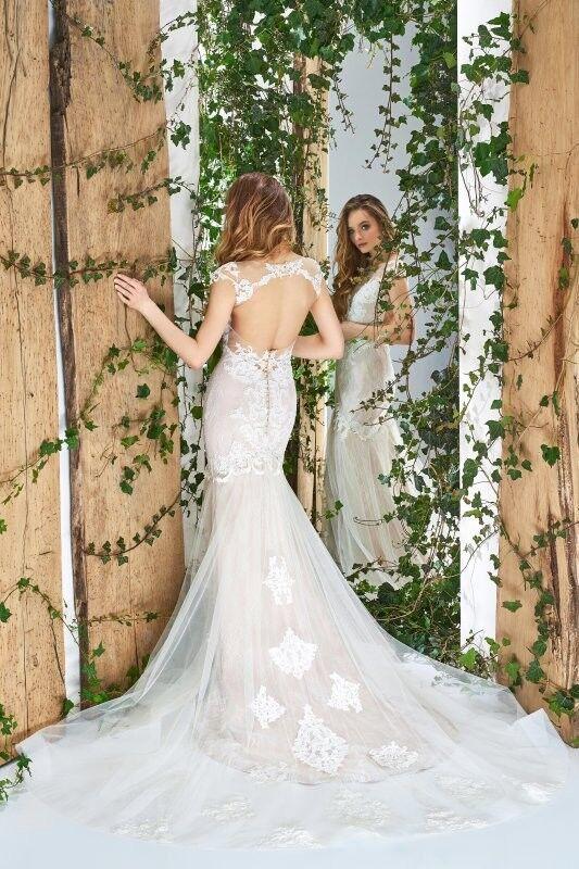 Свадебный салон Papilio Свадебное платье «Wonderland» #1810-L Ирис - фото 2