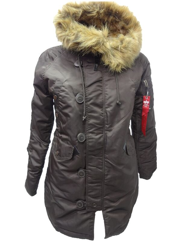 Спортивная одежда Alpha Industries Женская куртка-аляска N-3B - фото 1