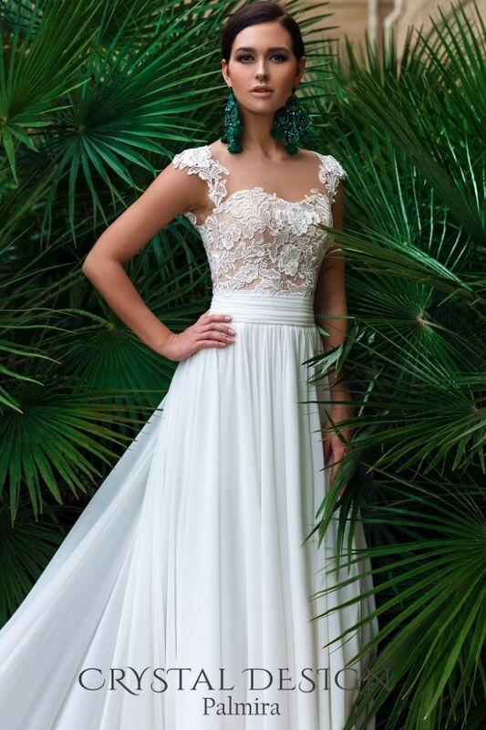 Свадебное платье напрокат Crystal Свадебное платье Palmira - фото 1