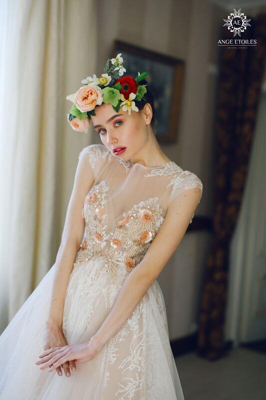 Свадебный салон Ange Etoiles Свадебное платье AEriality Collection  Fibi - фото 2