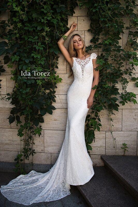 Свадебное платье напрокат Ida Torez Свадебное платье Jose - фото 1