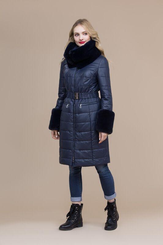 Верхняя одежда женская Elema Пальто женское плащевое утепленное 5-8120-1 - фото 1