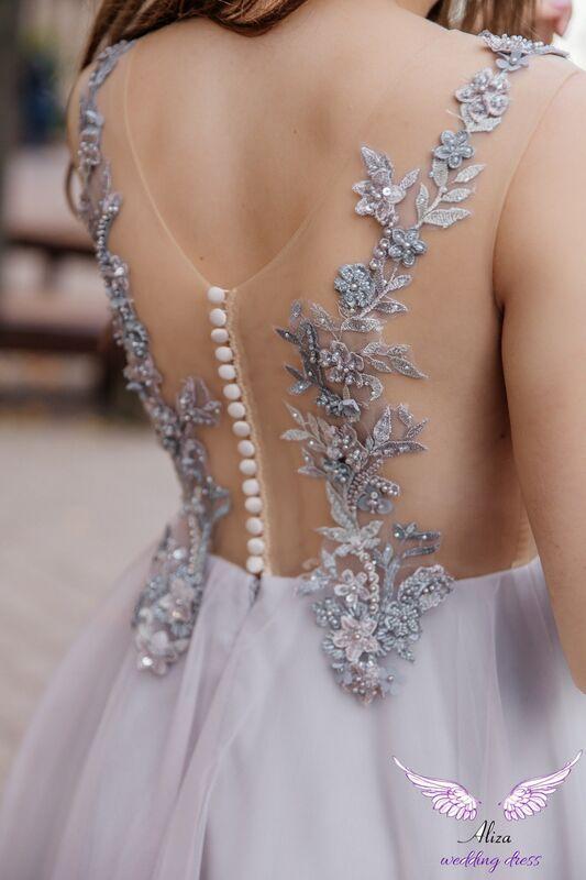 Свадебный салон ALIZA Вечернее платье Lavanda - фото 2