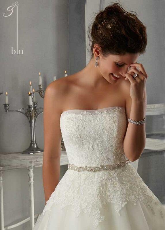 Свадебное платье напрокат Mori Lee Платье свадебное 5263 - фото 3