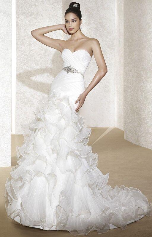 Свадебный салон Fara Sposa Свадебное платье 5128 - фото 1