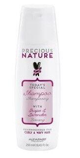 Уход за волосами Alfaparf Шампунь для кудрявых волос «Виноград и Лаванда» Preciouse Nature, 250 мл - фото 1