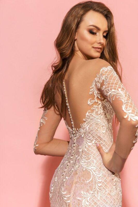 Свадебное платье напрокат Eva Lendel Платье свадебное Kim - фото 4