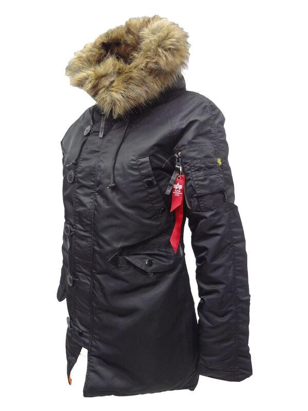 Спортивная одежда Alpha Industries Женская куртка-аляска N-3B - фото 4
