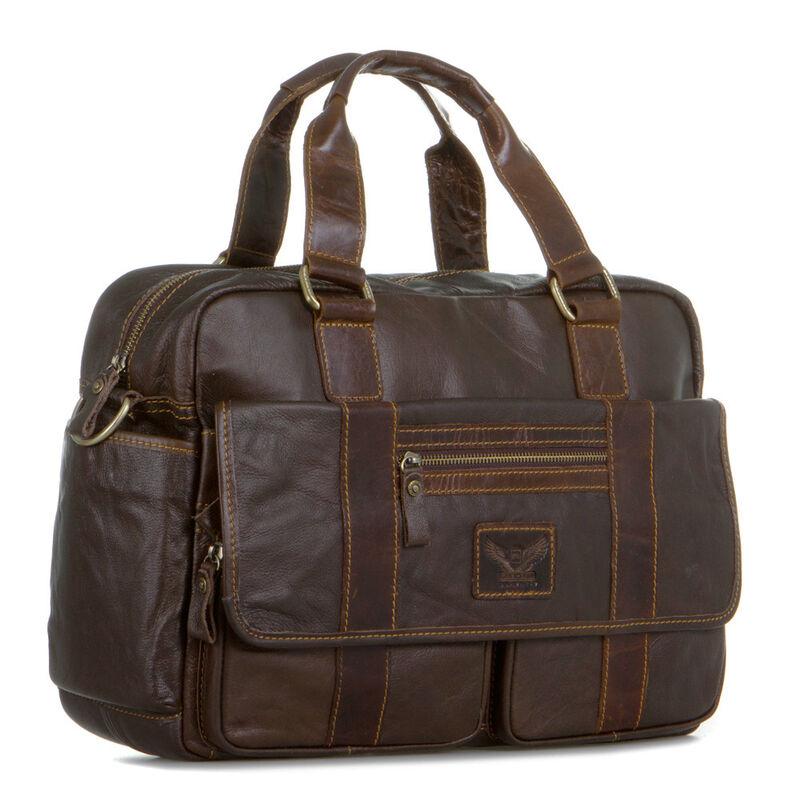 Магазин сумок Poshete Сумка мужская 196-1384-6 - фото 1
