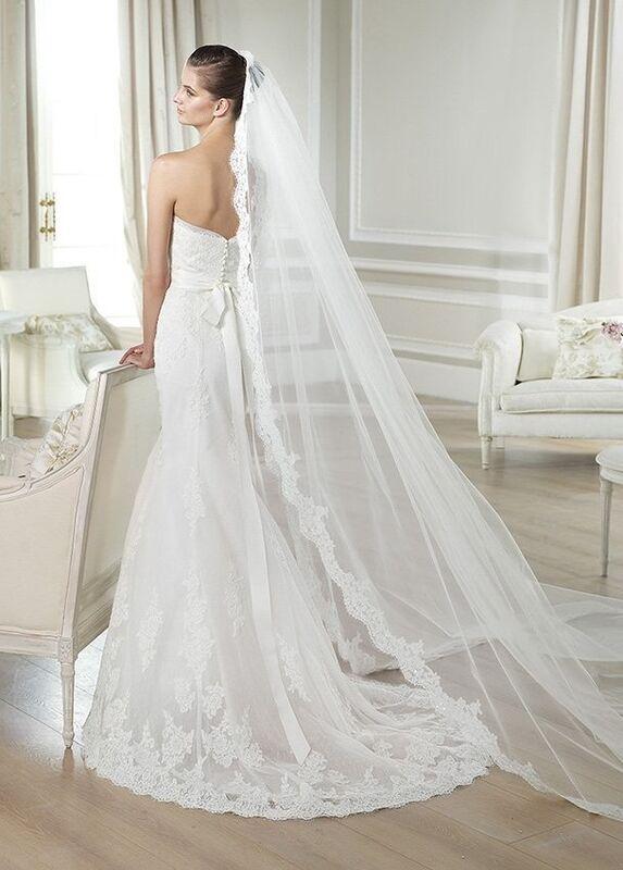 Свадебное платье напрокат White One (Pronovias) Платье свадебное «Jaramil» - фото 2