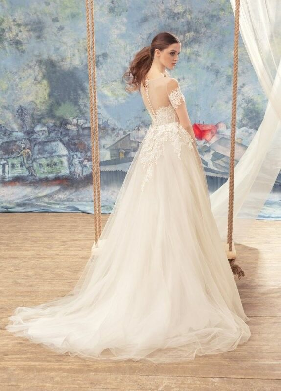Свадебный салон Papilio Свадебное платье «Малиновка» 1721L - фото 2