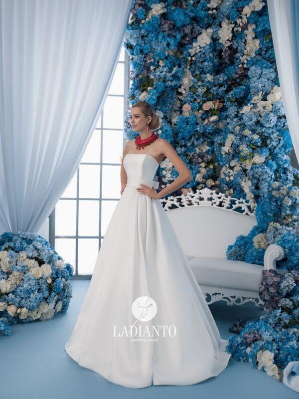 Свадебное платье напрокат Ladianto Платье свадебное D-7012 Leonzia - фото 1