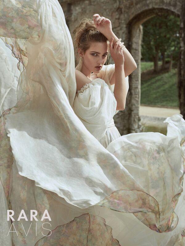 Свадебное платье напрокат Rara Avis Платье свадебное Floral Paradise Hilori - фото 1