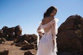Свадебное платье напрокат Blammo-Biamo Свадебное платье Dream Ocean Gendzi - фото 3