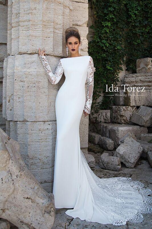 Свадебное платье напрокат Ida Torez Платье свадебное Rosie - фото 1