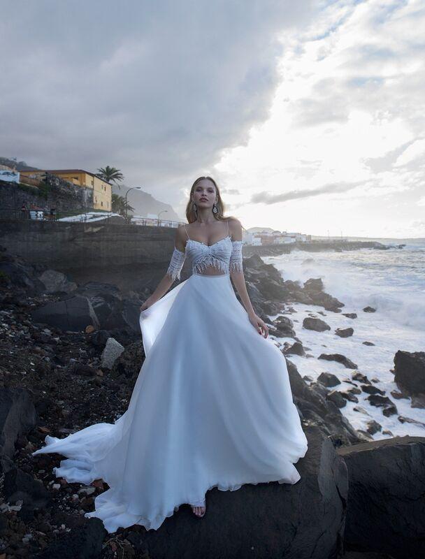Свадебное платье напрокат Blammo-Biamo Свадебное платье Dream Ocean Kara - фото 1