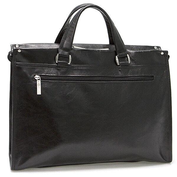 Магазин сумок Francesco Molinary Сумка мужская черная 513-7136-060 - фото 2