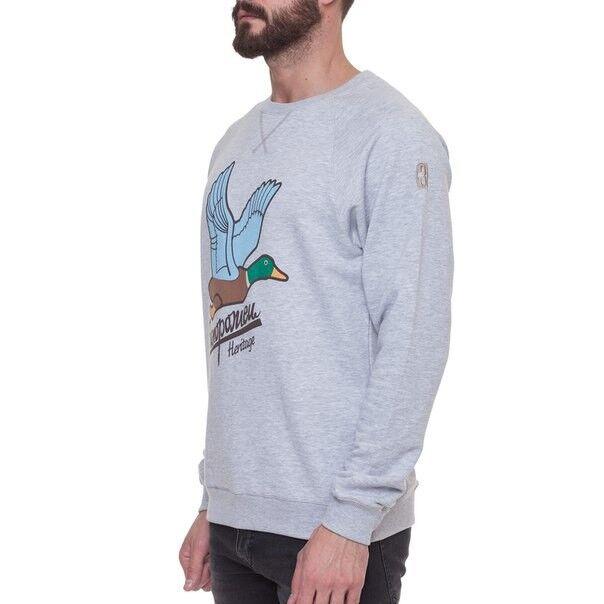 Кофта, рубашка, футболка мужская Запорожец Свитшот «Дичь» - фото 2