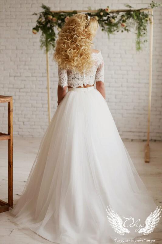 Свадебный салон ALIZA Свадебное платье «Emmira» Soffito - фото 2