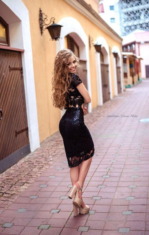 Вечернее платье Shkafpodrugi Топ и юбка из кружева с микро-пайетками - фото 4
